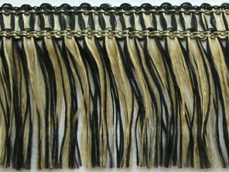Kranzband-Franse schwarz/gold
