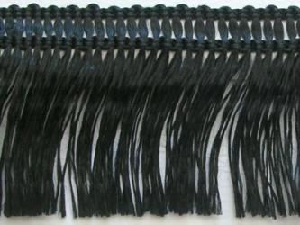 Kranzband-Klebefranse schwarz