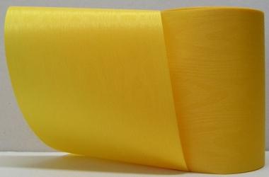 Kranzband-Moiré gelb - uni, ohne Randdekor