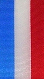 Nationalband Luxemburg - Hellblau-Weiß-Rot