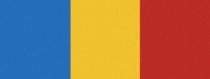 Computer-Nationalband Mecklenburg - Blau-Gelb-Rot