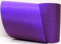 Kranzband-Moiré violett - uni, ohne Randdekor