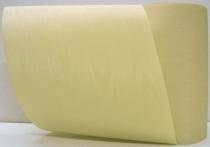 Kranzband-Moiré sand - uni, ohne Randdekor