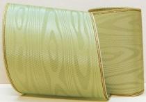 Kranzband-Moiré farn - Goldrand mit schwarzem Faden