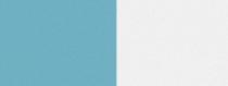 Computer-Nationalband / Vereinsband - Hellblau-Weiß
