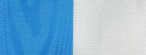 Moiré Nationalband Finland - Mittelblau-Weiß