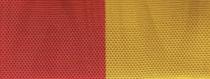 Moiré Nationalband Spanien - Rot-Gelb