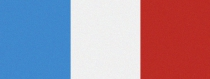 Computer-Nationalband Luxemburg - Mittelblau-Weiß-Rot