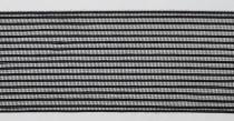 Florband Mimosa - Tüll schwarz transparent